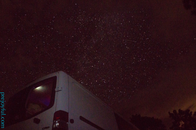 Starry night in Vedauwoo