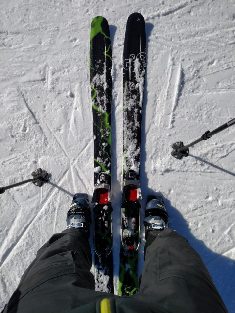 New skis.