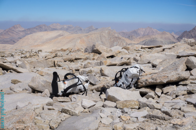 Summit of Mt. Whitney.