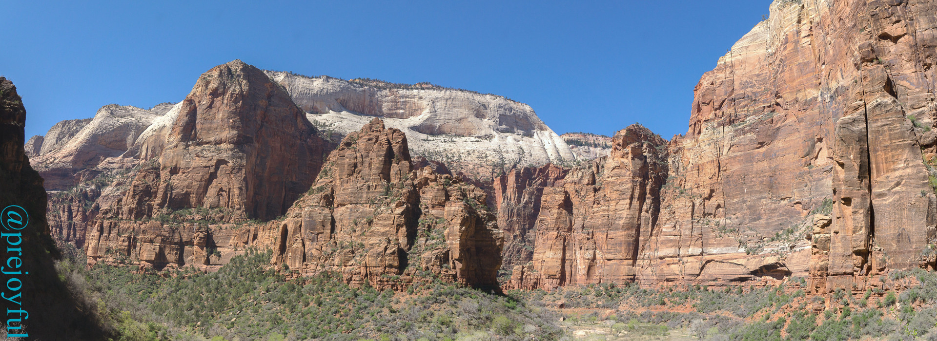 Angel's Landing and Big Bend.